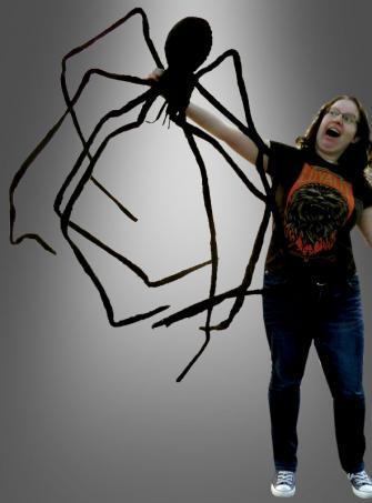 Riesenspinne Halloween Partydekoration 2,7 m