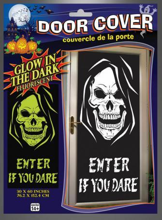 Door Cover Skull