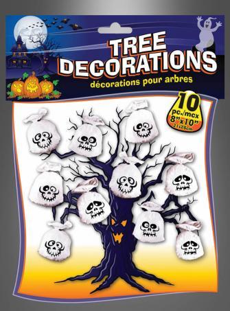 Halloween Deko Geister Tüten