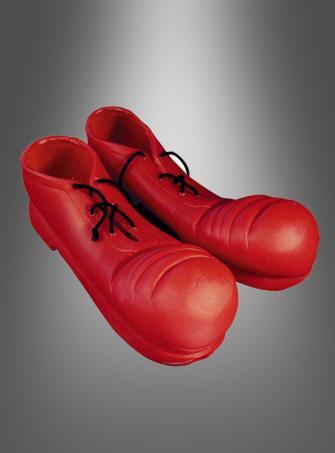 Clown Schuhe rot