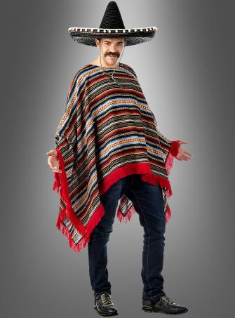 Deluxe Cape Mexican Man