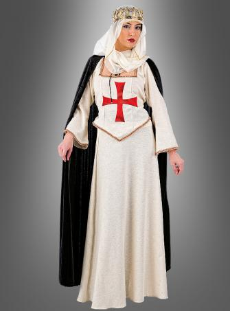 Queen of  Templar costume