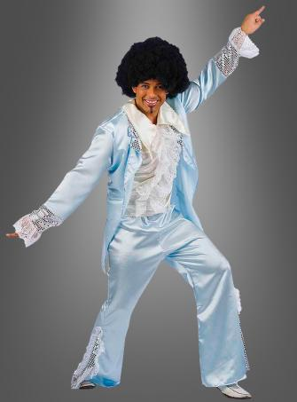 Disco Dancer blue costume
