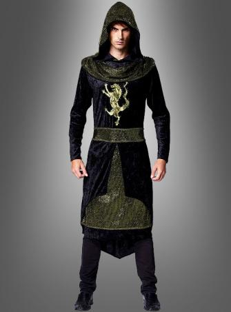 Der schwarze Prinz Ritterkostüm