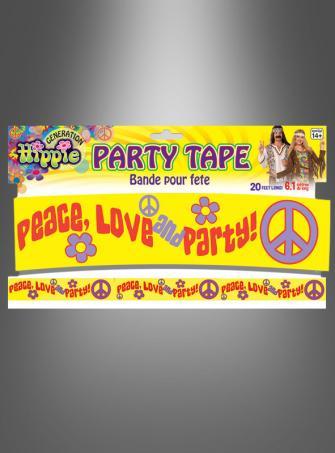 Hippie Party Tape Decoration