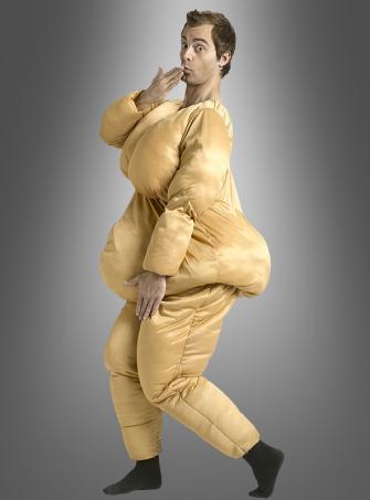 Fettanzug Fatsuit Spaßkostüm