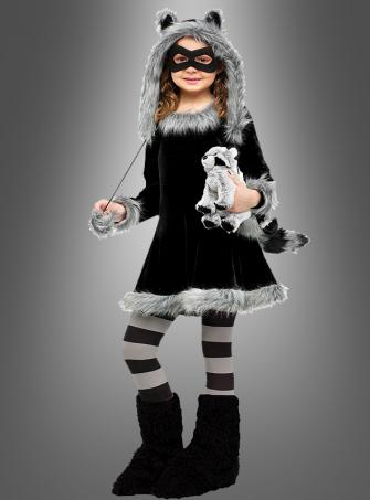 Cute Raccoon Girl Costume