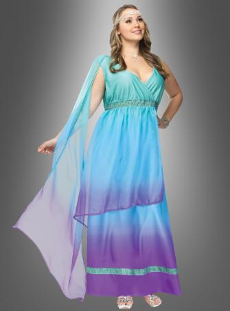 Meeresgöttin XXL Kleid