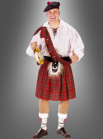 XXL Schotte Kostüm