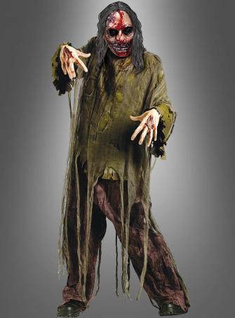 Zombie mit Blutmaske