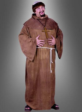 Plus Size Medieval Monk Costum