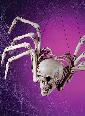 Skelettspinne Hängedekoration