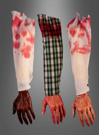 Bloody Hand with sleeve