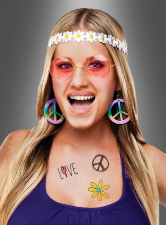 Instant Hippie Costume Set