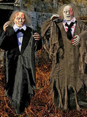 Zombiepuppe Halloweendeko 90 cm