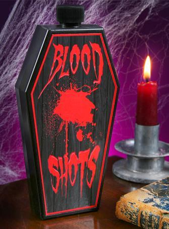 Blutfläschchen Flachmann für Vampire