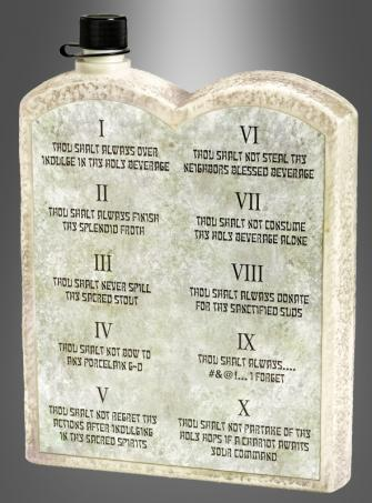Ten Commandments Beverage Dispenser