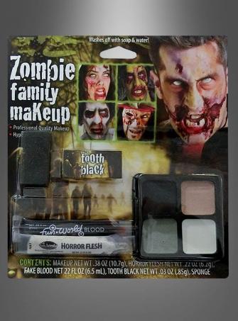 Zombie Family Makeup Kit