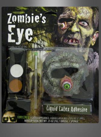 Zombie Auge Makeup Set