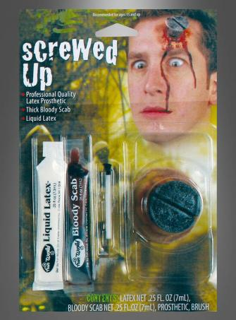 Screw in Head Make Up Kit