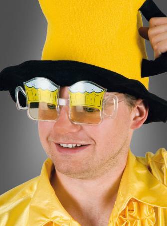 Partybrille Bierglas Anton