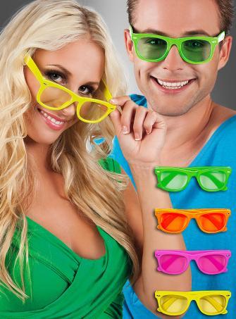 Party Brille verschiedene Farben