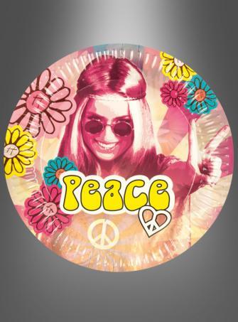 Hippie Paper Plates 6 pc.