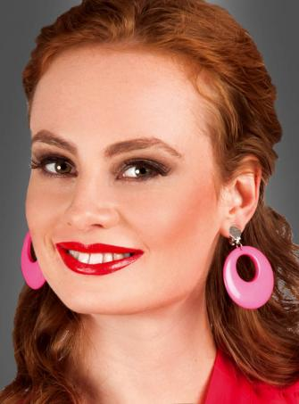 Retro Earrings pink