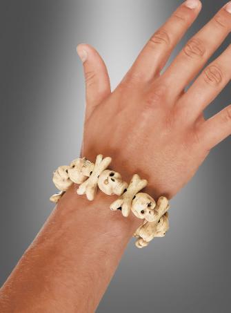 Totenkopf Armband