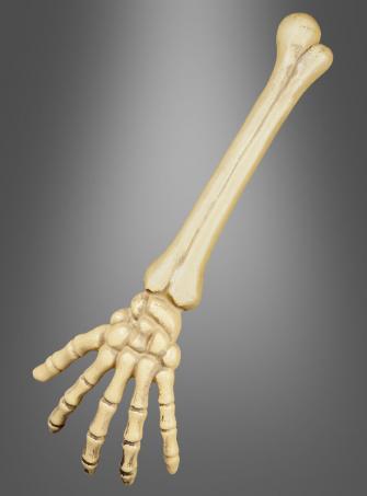 Skelettarm Gruseldeko