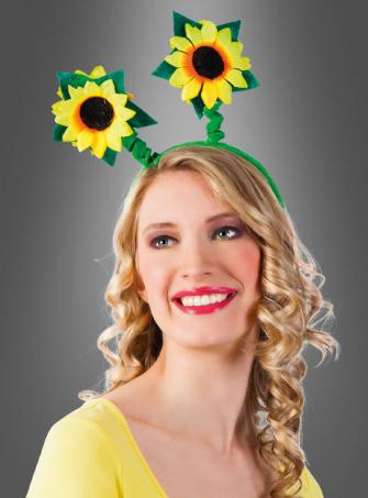 Sunflower Hair Circlet