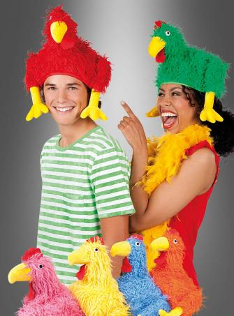 Crazy Chicken Hat