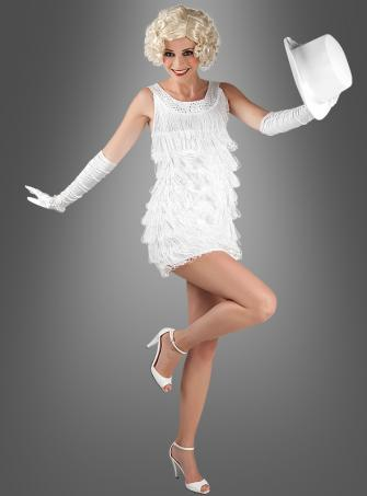 Flapper Dress Diana white