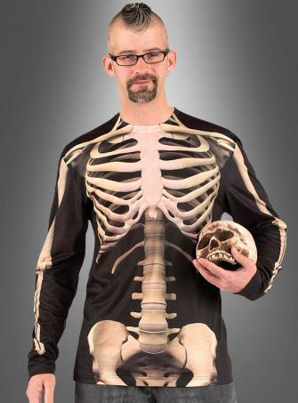 Skeleton Longsleeve Shirt