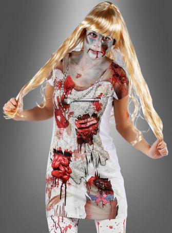 Bloody Zombie Longshirt