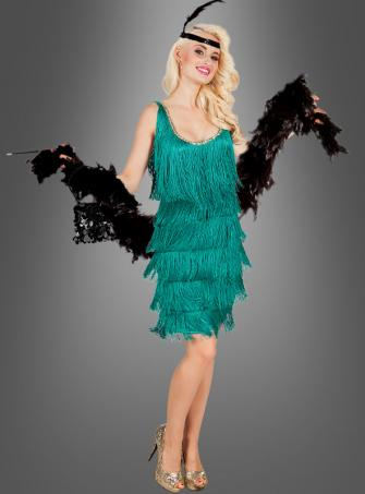 Emerald Flapper Dress