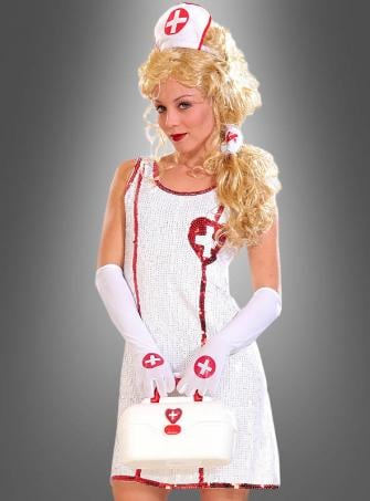 Nurse Dress Sequinned