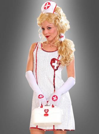 Krankenschwester Paillettenkleid