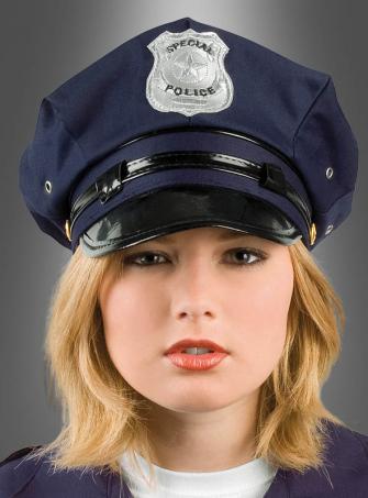 Polizei Mütze blau