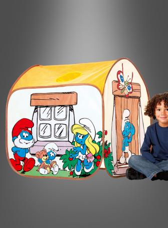 Playing tent for little smurfs