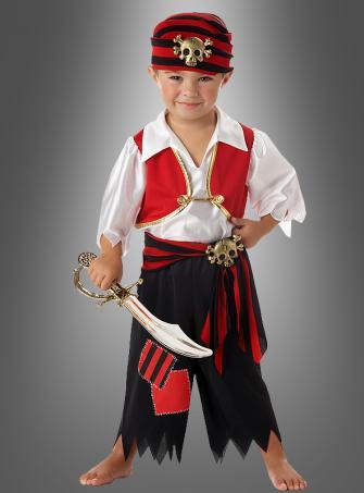 Pirate costume toddler boys child