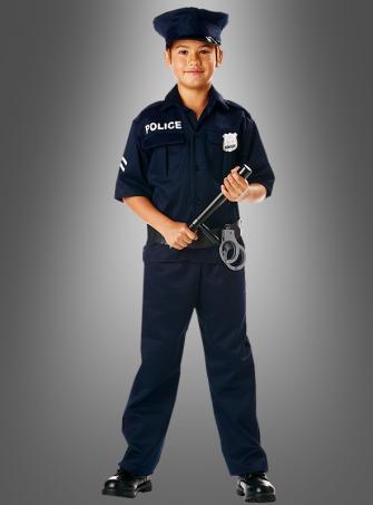 US Polizist Kinderkostüm