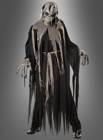 Gruft Zombie Kostüm mit Maske