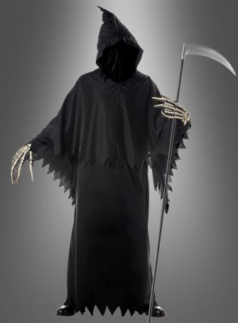 Grim Reaper Sensenmannkostüm