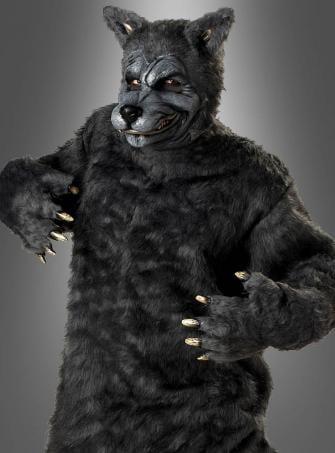 XXL Wolf Kostüm Übergröße Herren