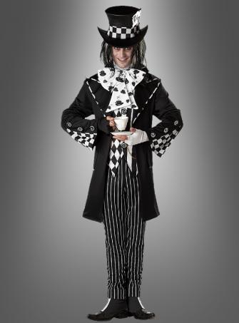 Dunkler verrückter Hutmacher Kostüm