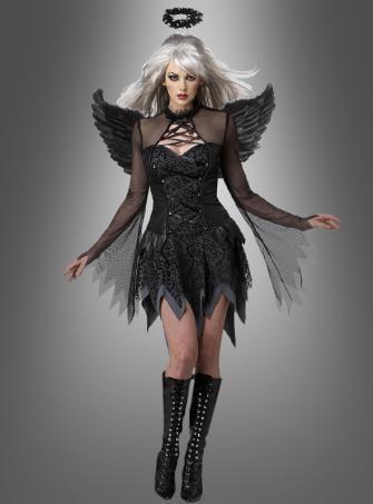 Gefallener schwarzer  Engel Kostüm