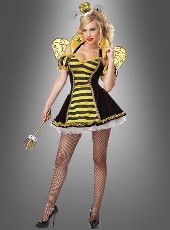 Sexy Königin der Bienen Kostüm