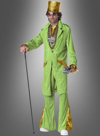 70er Pimp Outfit grün