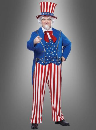 Uncle Sam costume deluxe XXL